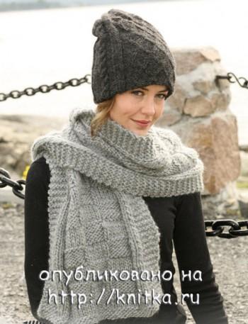 схемы вязания шапок