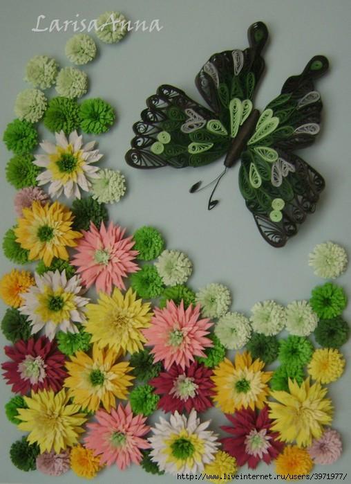 Квиллинг. Бабочки. Обсуждение