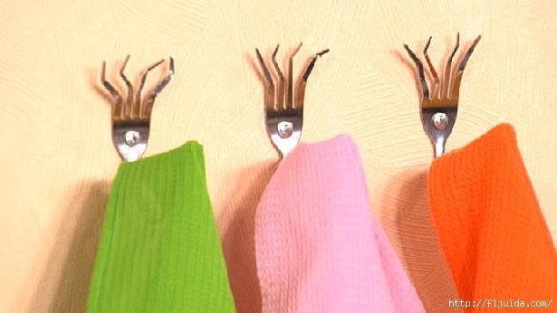 Крючки для полотенец своими рука