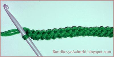 Как вязать крючком шнурок