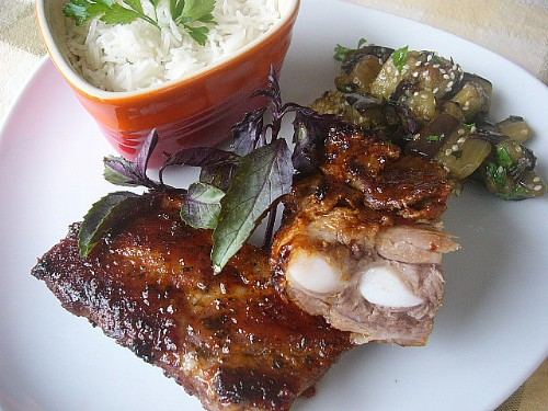 ribs in apricot glaze (500x375, 75Kb)
