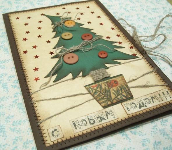Картинки открытки новогодние своими руками