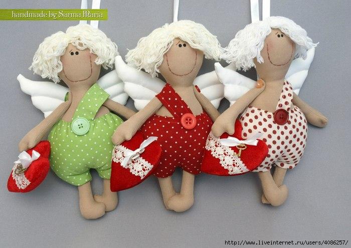Куклы валентинки своими руками - Reg197.ru