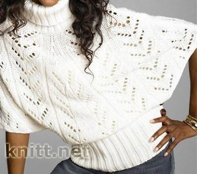 melanzhevyj-pulover-poncho (400x355, 41Kb)