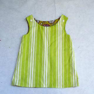 Сшить платье для малышки до года