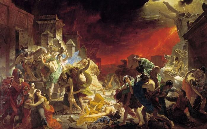 imagem do último dia de Pompéia / 4171694_poslednii_den_pompei_kartina (700x437, 100Kb)