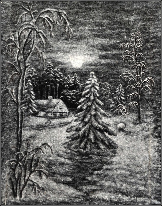 Картины из пуха