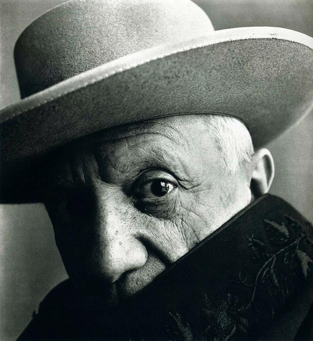 Пабло Пикассо, 1957 (644x700, 116Kb)