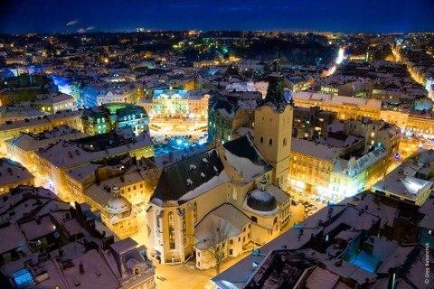 Вечерний Львов, Украина (480x320, 54Kb)