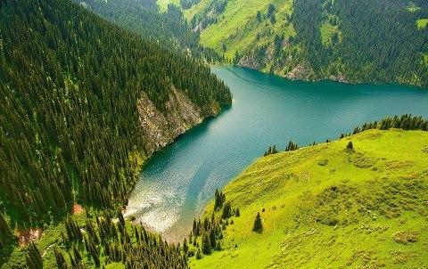 Озеро Кульсай (Мынжылгы), Казахстан (480x302, 60Kb)