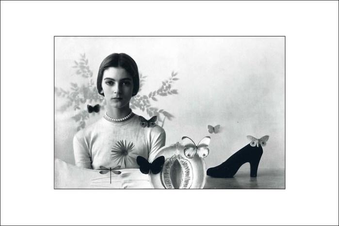 Фото Ирвинг Пенн, Vogue 1946 год (700x466, 39Kb)