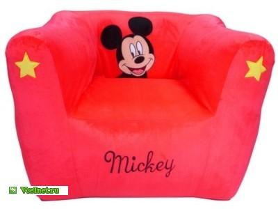 Мини-кресло Микки Маус (400x300, 21Kb)