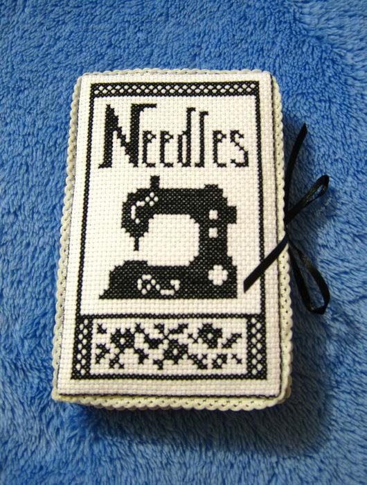 Игольница-книжечка со швейной