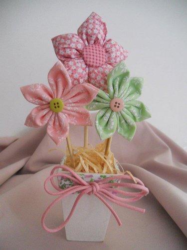 цветы из ткани (375x500, 30Kb)