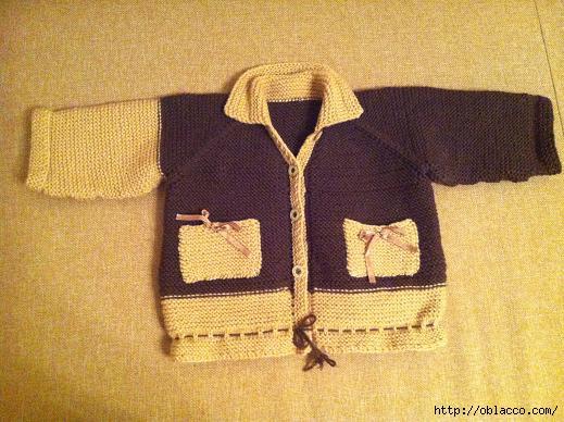 Вязание для самых маленьких кардиган