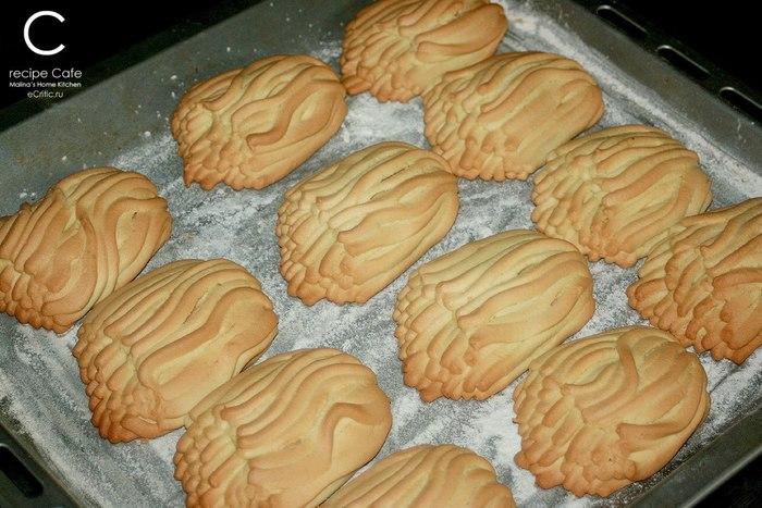 Печенье через мясорубку рецепты хризантема