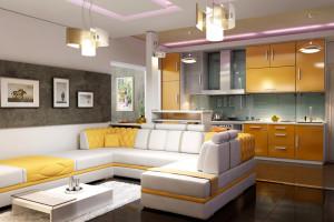 кухня студия (300x200, 40Kb)