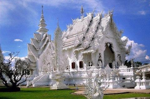 Белый храм, Чианг Рай, Тайланд (480x319, 55Kb)