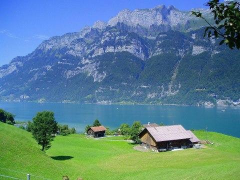 Бернские Альпы, Швейцария (480x360, 51Kb)
