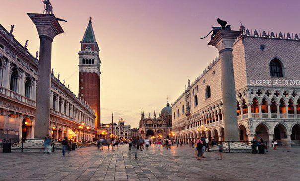 Площадь сан марко венеция италия