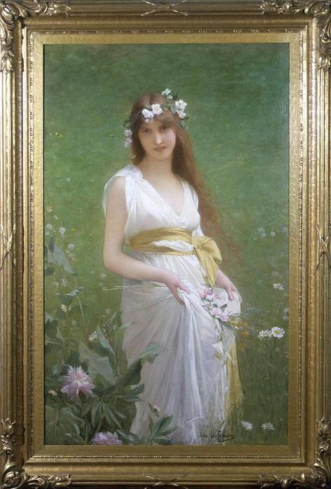 Jules-Joseph Lefebvre Springtime (473x700, 58Kb)