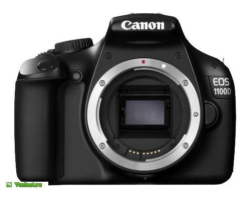 Фотокамера зеркальная Canon EOS 1100D (505x401, 30Kb)