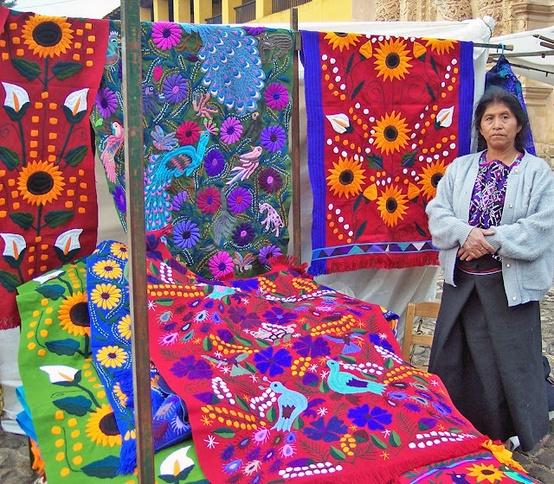 Мексиканская техника вышивки
