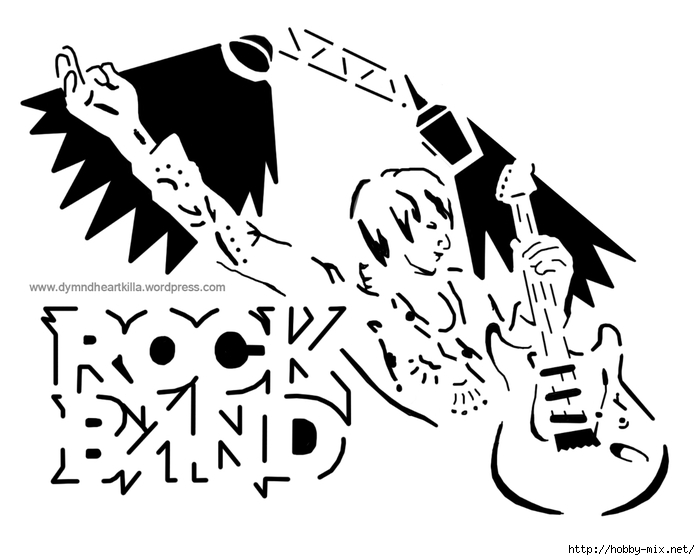 rock-band-pumpkin (700x560, 136Kb)