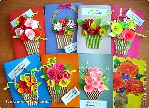 Подарок маме к 8 марта своими руками