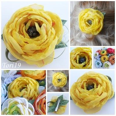 Цветы из ткани (18) (400x400, 72Kb)