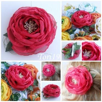 Цветы из ткани (19) (400x400, 75Kb)