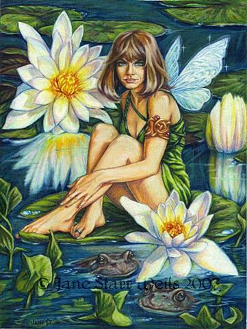 Феи художницы Jane Starr Weils