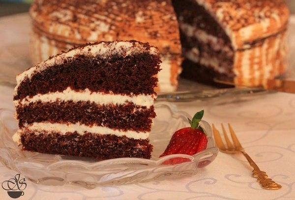 Шоколадный торт на кипятке (600x408, 56Kb)