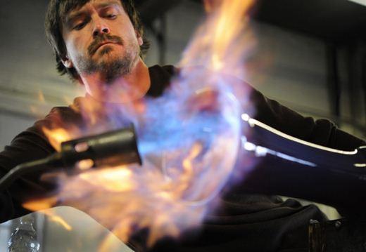 Тим Макфадден. Искусство изготовления стекла. Фотографии