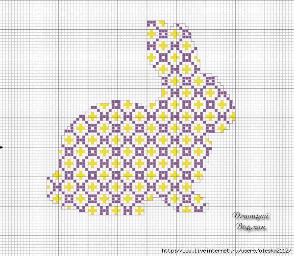 пасхальный зайчик (600x523