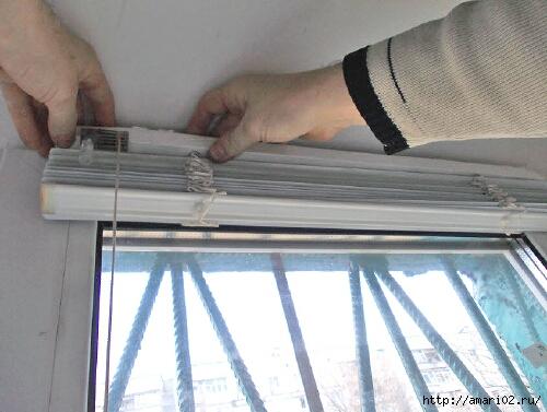 Как поставить жалюзи на пластиковое окно СДЕЛАЙ САМ!