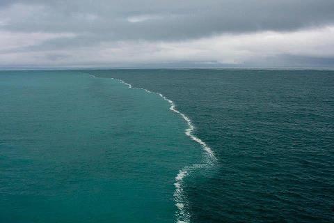 Встреча Северного и Балтийского моря, в Дании (480x320, 16Kb)