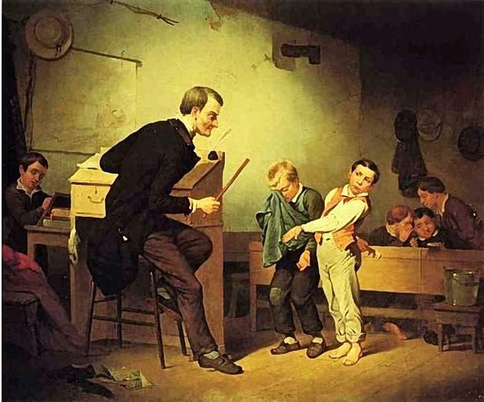 Francis William Edmonds (1806 � 1863) The Two Culprits (700x581, 55Kb)