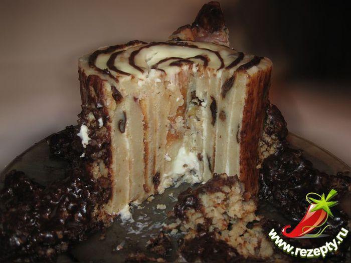 Торт трухлявый пень пошагово в домашних условиях