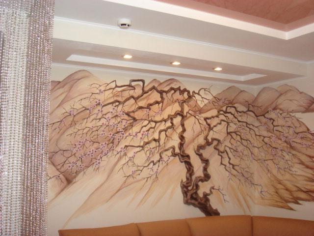 Как сделать лепнину на стене своими руками