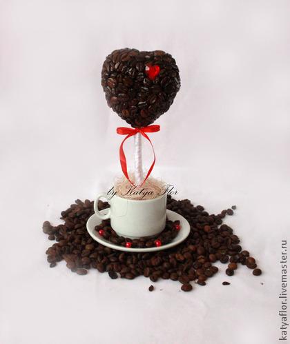 Кофейные валентинки своими руками