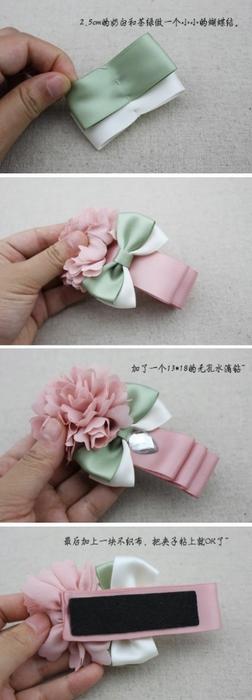 сшить своими руками-цветы из ленты-из ткани (252x700, 111Kb)