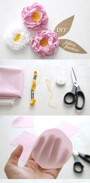 сшить своими руками-цветы из ленты-из ткани (345x700, 55Kb)