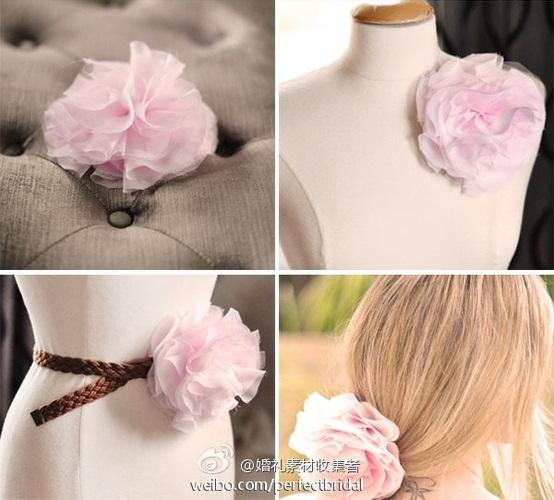 сшить своими руками-цветы из ленты-из ткани (554x500, 85Kb)