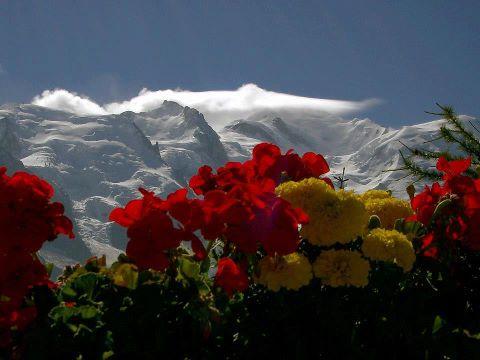 Гора Монблан (480x360, 25Kb)