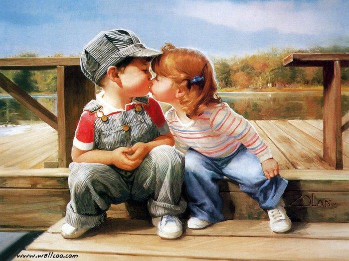 67748079_1292097776_painting_children_kjb_DonaldZolan_57FirstKiss_sm (700x525, 95Kb)
