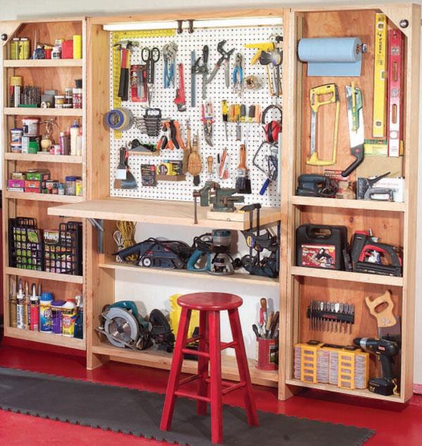 Шкаф для инструмента своими руками фото