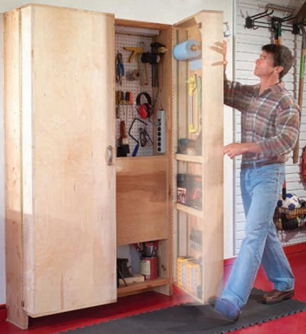 Как сделать шкафчик своими руками из подручных материалов