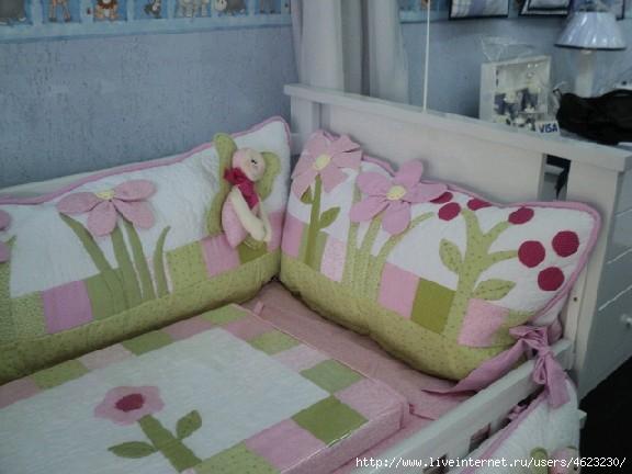 Карман для детской кроватки сшить