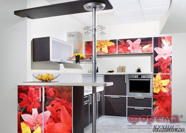 Дизайн кухни со стойкой 18 февраля 2015